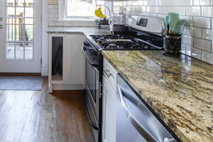 Kitchen Countertop Made of Marble