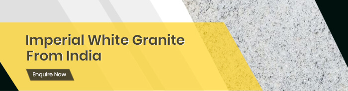 Imperial White Granite in Customised Shapes, Sizes & Finishes